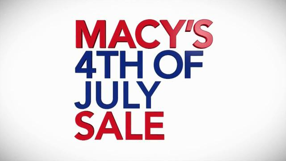 Macy s Fourth of July Sale TV mercial Mattresses