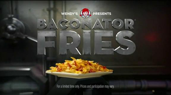 Wendy's Baconator Fries TV Spot, 'Another Dimension'