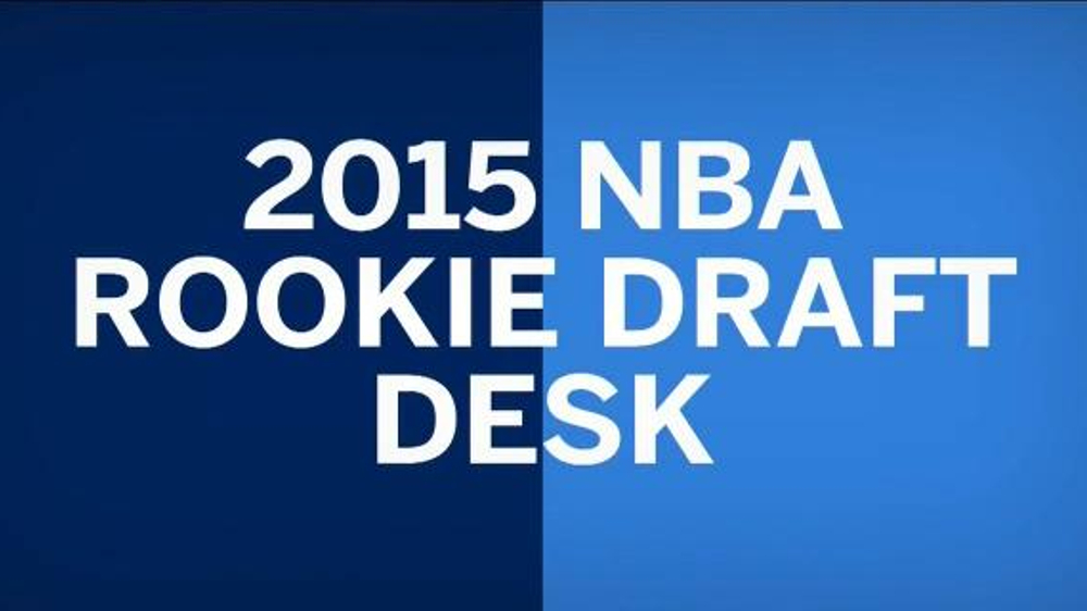 American Express TV Commercial, '2015 NBA Rookie Draft Desk' Ft. D'Angelo Russell - iSpot.tv