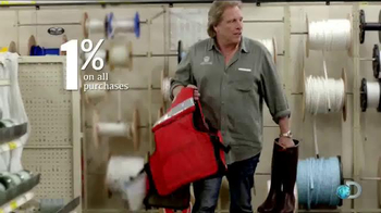 Bank of America Cash Rewards Card TV Spot, 'Discovery' Featuring Sig Hansen thumbnail