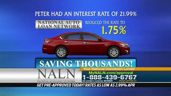 National Auto Loan Network TV Spot, 'High Interest Rate'