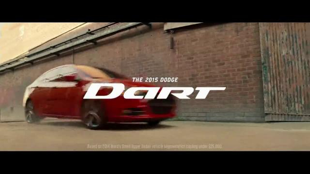 2015 dodge dart tv commercial 39 the legend of the dodge. Cars Review. Best American Auto & Cars Review