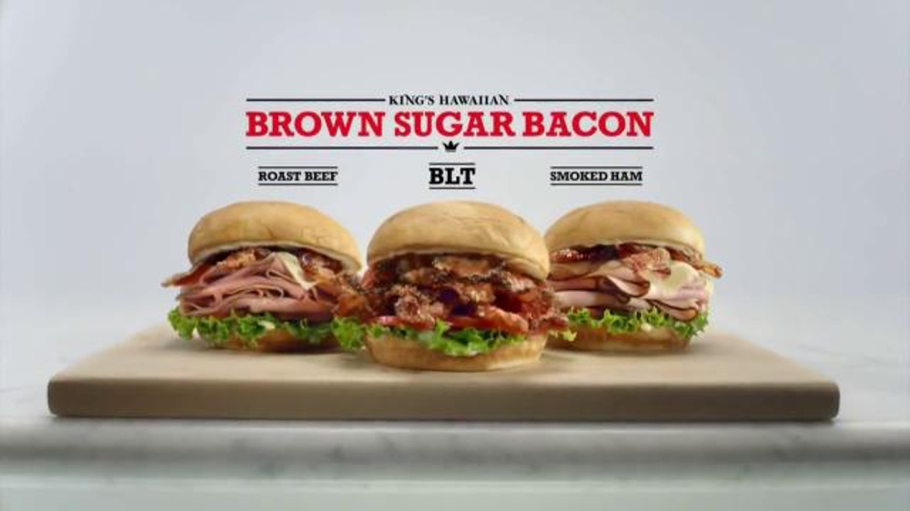 Arby s brown sugar bacon tv spot your eyes were right screenshot