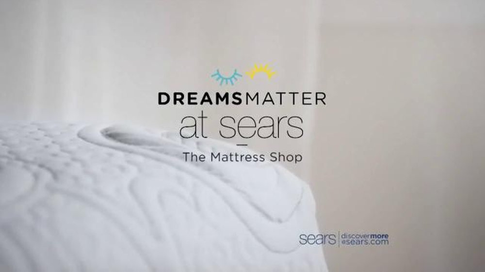 Sears Fourth of July Mattress Sale TV mercial Dreams