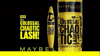 Maybelline New York Colossal Chaotic Lash TV Spot, 'Major Volume'