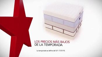 Macy's Venta del 4 de Julio TV Spot, 'Colchones Nuevos' [Spanish] thumbnail