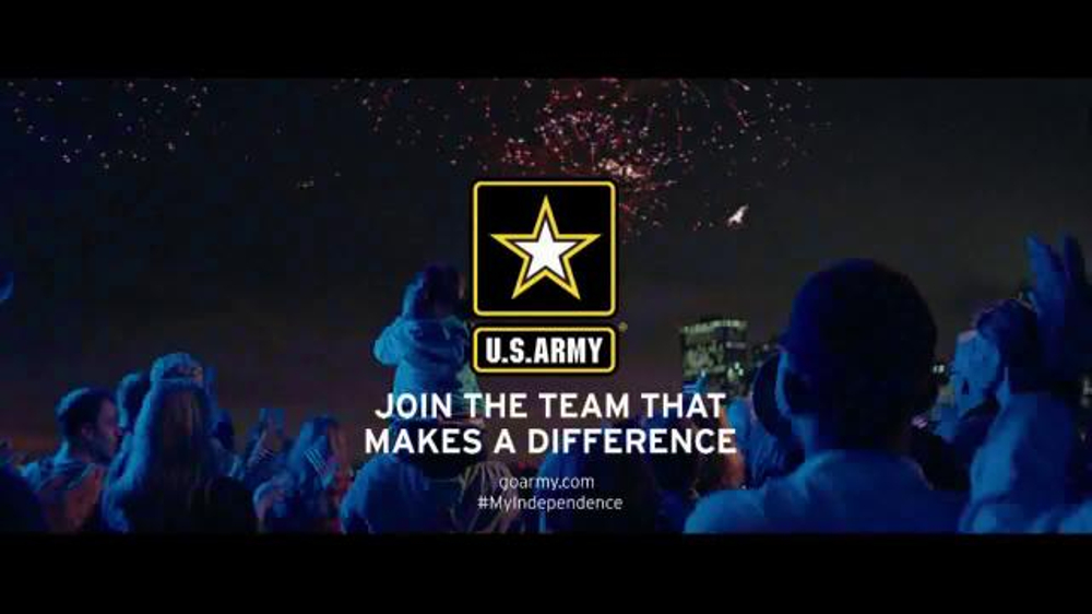 US Army TV Spot, 'Moment of Independence: Fireworks Show'