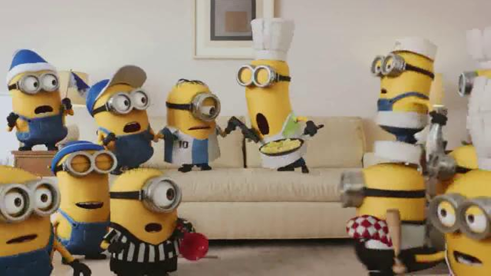 Xfinity x1 voice remote tv spot 39 minions favorite show 39 - Despicable me xfinity ...