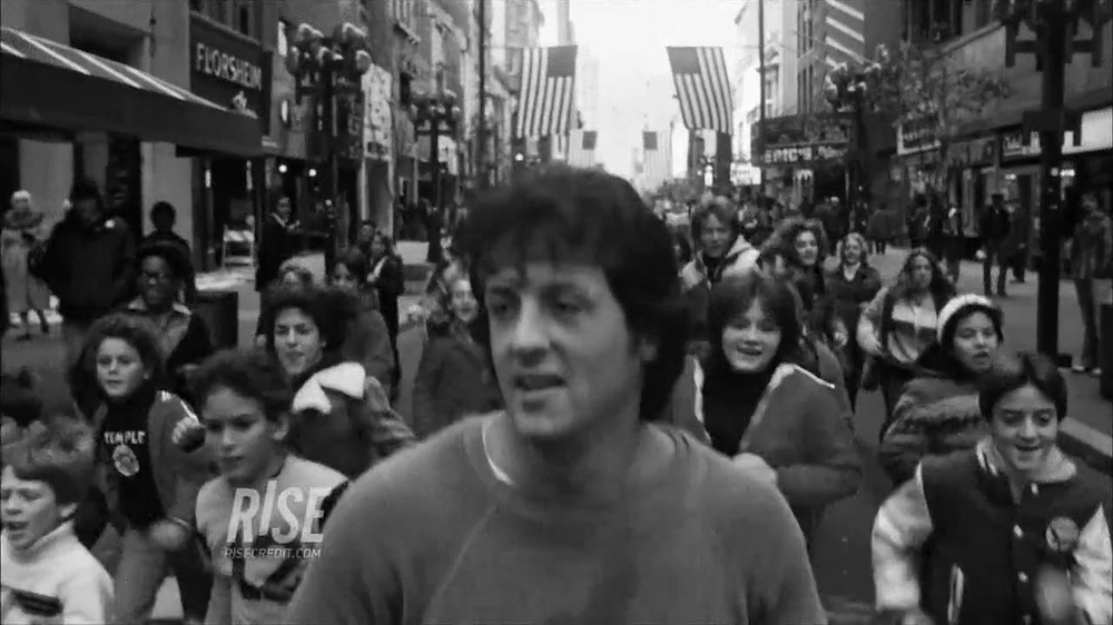RISE TV Spot Featuring Sylvester Stallone in Rocky - Screenshot 3