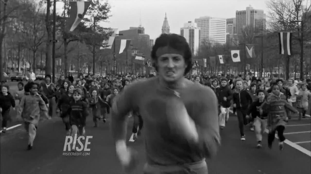 RISE TV Spot Featuring Sylvester Stallone in Rocky - Screenshot 4