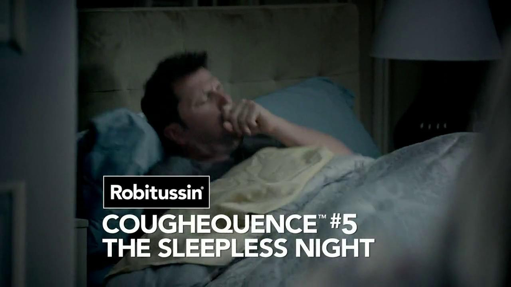 Robitussin DM Nighttime Cough TV Spot, 'Coughequence 5: Sleepless Night'