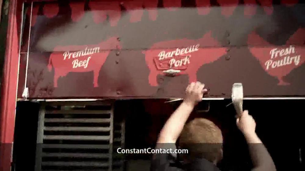 Constant Contact TV Spot, 'Food Truck' - Screenshot 5