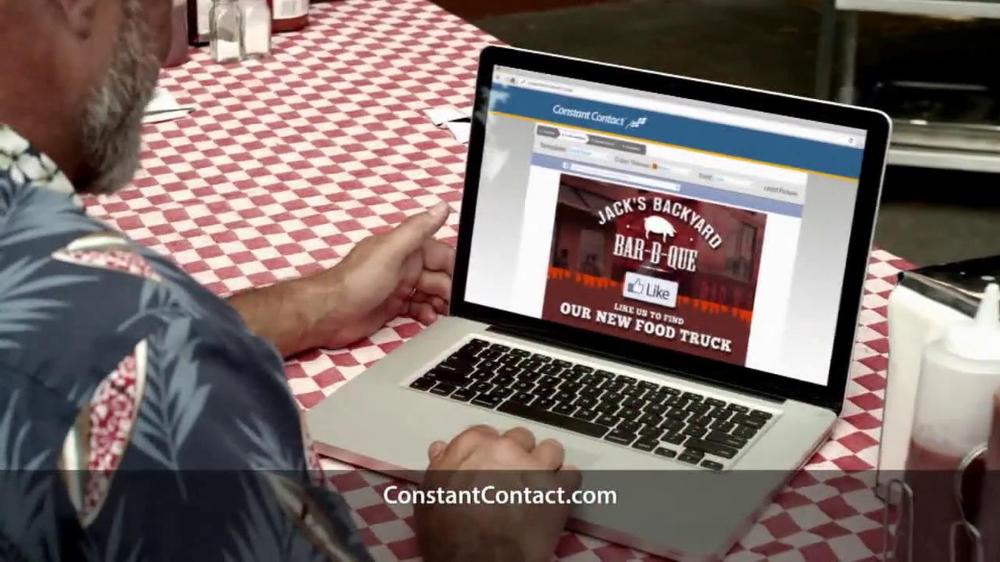 Constant Contact TV Spot, 'Food Truck' - Screenshot 7