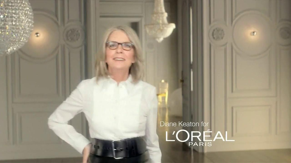 L'Oreal Paris Age Perfect Glow Renewal TV Spot Featuring Diane Keaton - Screenshot 1
