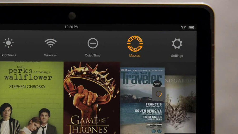 Amazon Kindle Fire HDX TV Spot, 'Mayday' - Screenshot 2