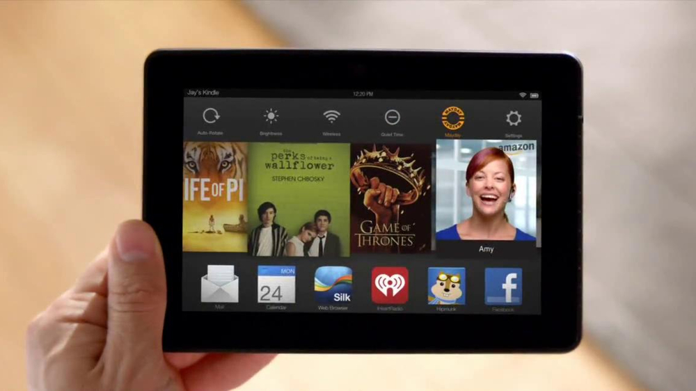 Amazon Kindle Fire HDX TV Spot, 'Mayday' - Screenshot 3