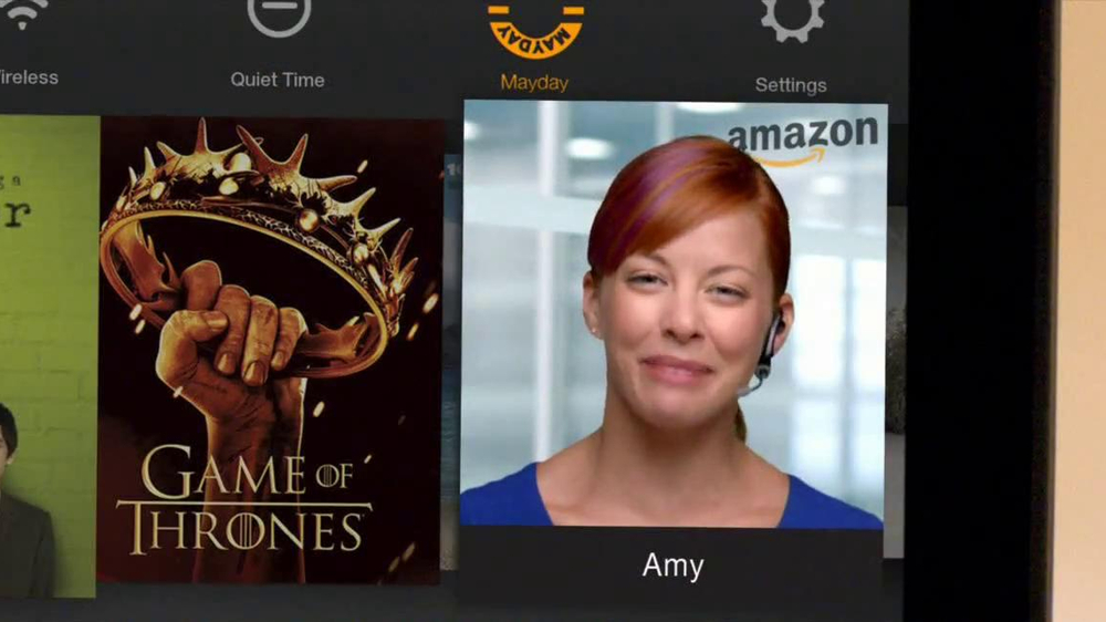 Amazon Kindle Fire HDX TV Spot, 'Mayday' - Screenshot 4