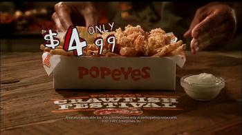 Popeyes Crawfish Festival TV Spot