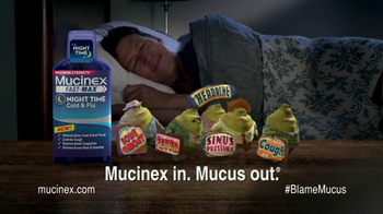 Mucinex Fast-Max Night Time TV Spot, 'Sleep' thumbnail
