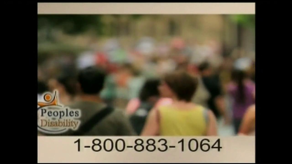 Peoples Disability TV Spot - Screenshot 1