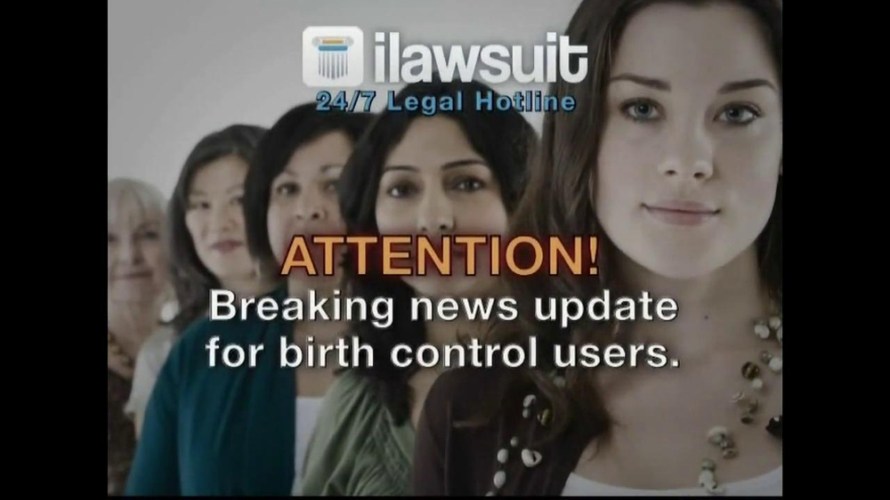 iLawsuit Legal Hotline TV Spot, 'Yaz' - Screenshot 1