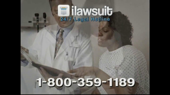 iLawsuit Legal Hotline TV Spot, 'Yaz' - Thumbnail 6