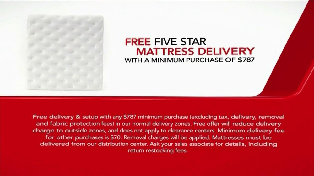Macys Columbus Day Mattress Sale 2014 Tv Spot Screenshot 5