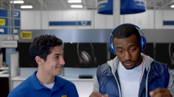 Best Buy TV Spot, 'Beats Blue Studio' Feat. John Wall, Song by Lady Gaga