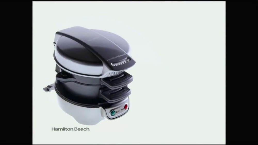 Hamilton Beach Breakfast Sandwich Maker TV Spot - Screenshot 3