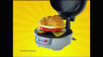 Hamilton Beach Breakfast Sandwich Maker TV Spot - Thumbnail 7