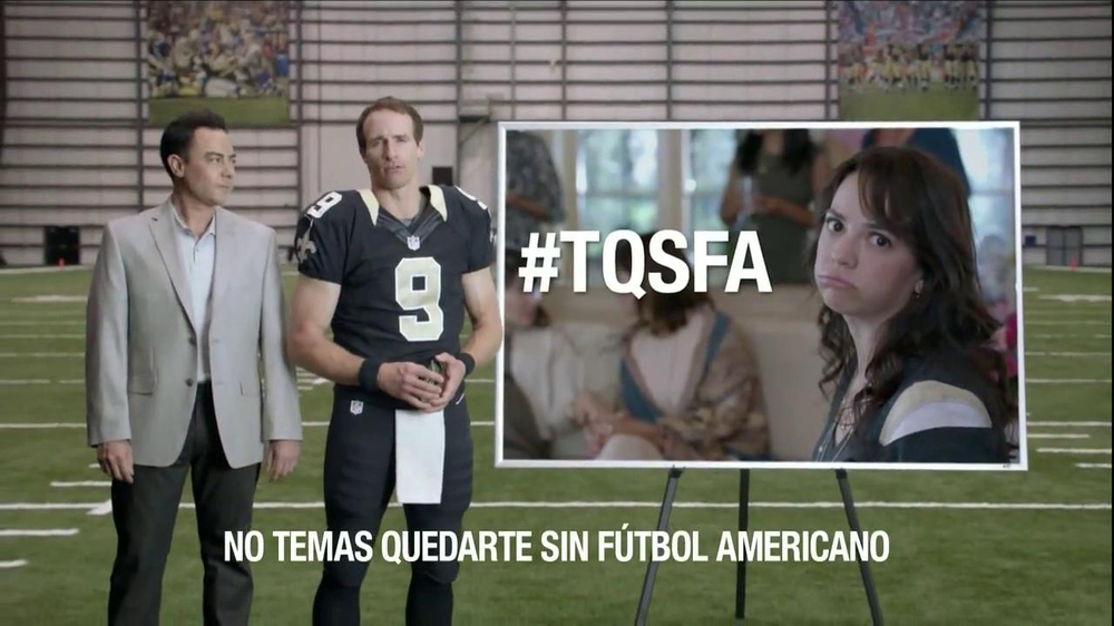 Verizon NFL Mobile TV Spot, 'Baby Shower' [Spanish] - Screenshot 7