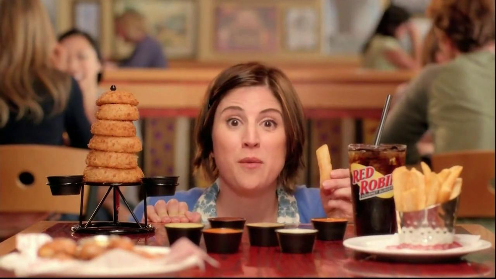 Red Robin Dipping Sauces TV Spot, 'Not Made with Real Buzzards' - Screenshot 2