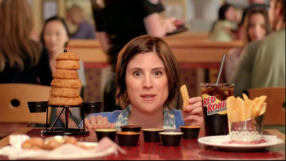 Red Robin Dipping Sauces TV Spot, 'Not Made with Real Buzzards' - Screenshot 3