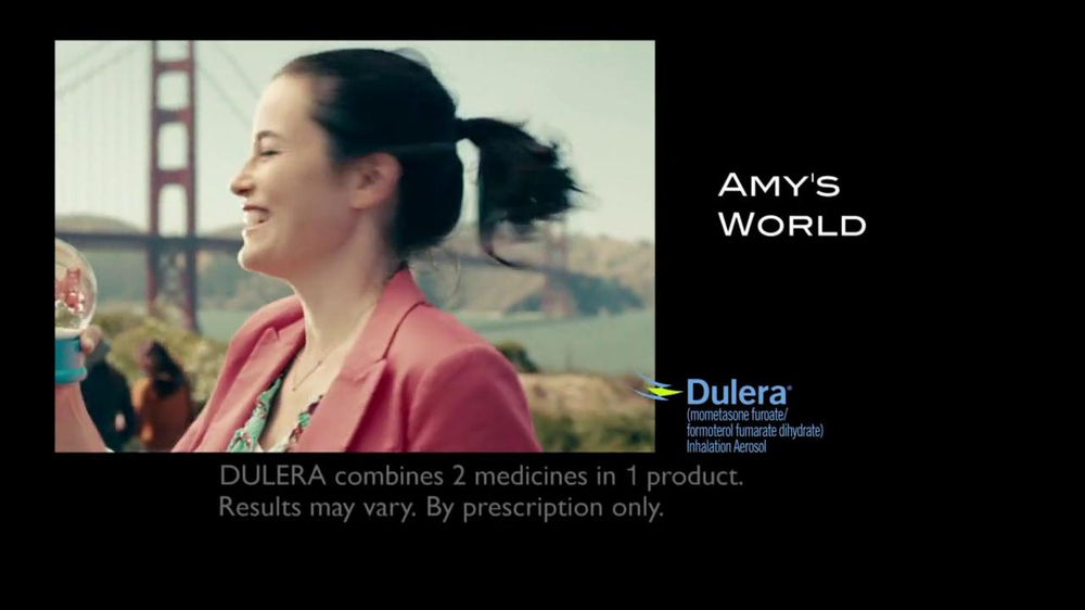 Dulera TV Spot, 'Amy's World' - Screenshot 1