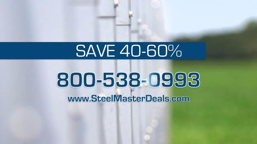 Steel Master Buildings TV Spot - Screenshot 9