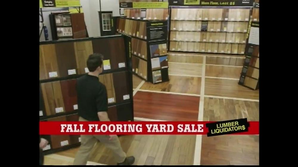 Lumber Liquidators Fall Flooring Yard Sale TV Commercial ...
