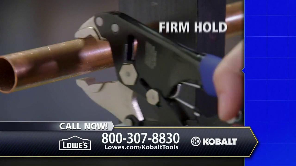 Kobalt Magnum Grip Locking Pliers TV Spot - Screenshot 5