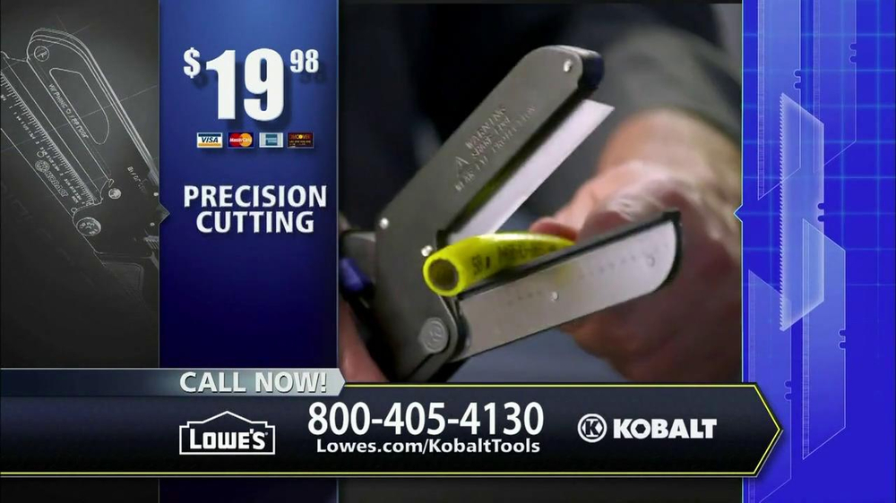 Kobalt Tools Triple Cut TV Spot - Screenshot 10