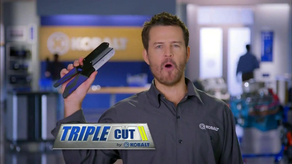 Kobalt Tools Triple Cut TV Spot - Screenshot 2