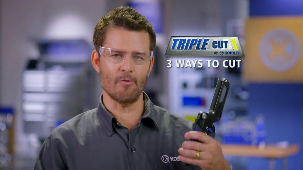 Kobalt Tools Triple Cut TV Spot - Screenshot 5