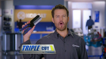 Kobalt Tools Triple Cut TV Spot - Thumbnail 2