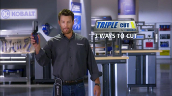 Kobalt Tools Triple Cut TV Spot thumbnail
