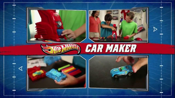 Hot Wheels Car Maker TV Spot