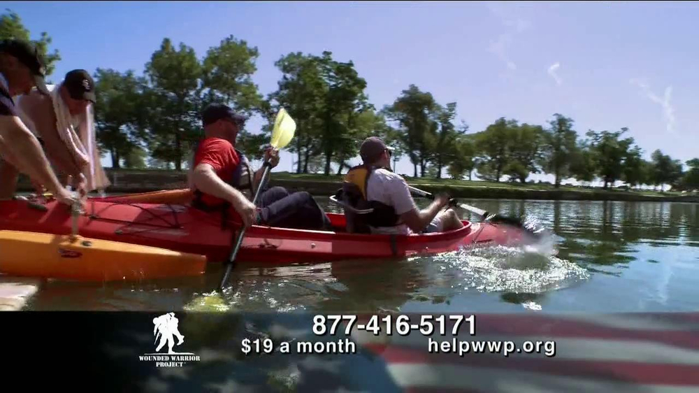 Wounded Warrior Project TV Spot, 'Physical Health & Wellness Event' - Screenshot 4