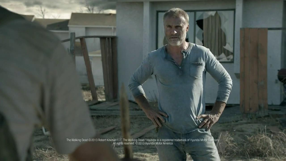 Hyundai TV Spot, 'The Walking Dead Chop ShopSpeech' - Screenshot 10