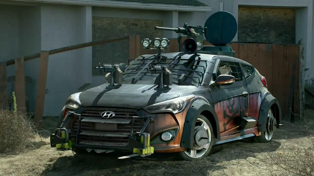 Hyundai TV Spot, 'The Walking Dead Chop ShopSpeech' - Screenshot 7