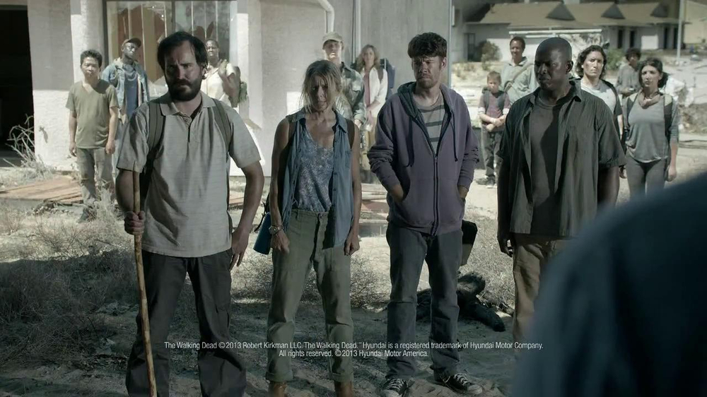 Hyundai TV Spot, 'The Walking Dead Chop ShopSpeech' - Screenshot 9
