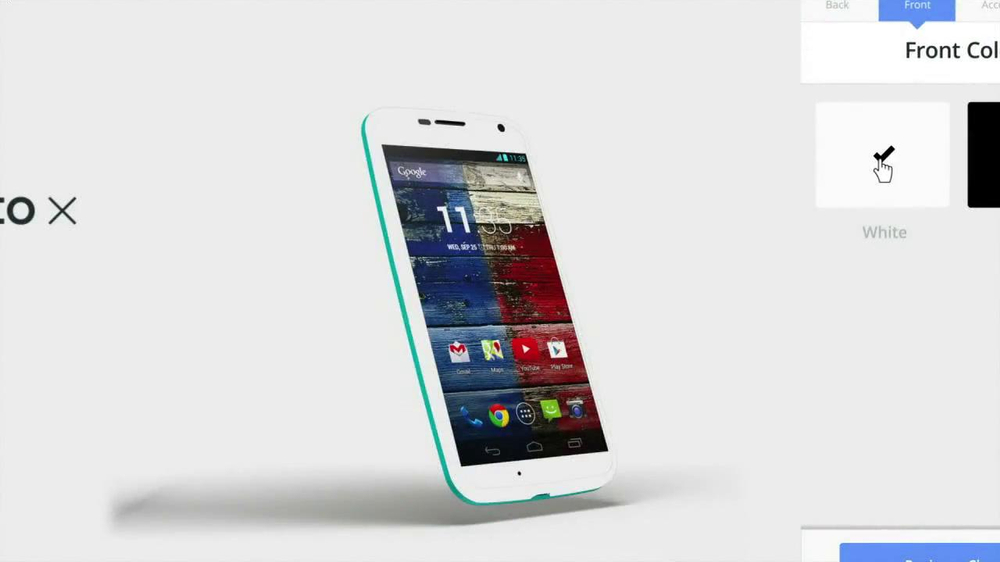 Motorola Moto X TV Spot, 'Customize' Song by Kanye West - Screenshot 6