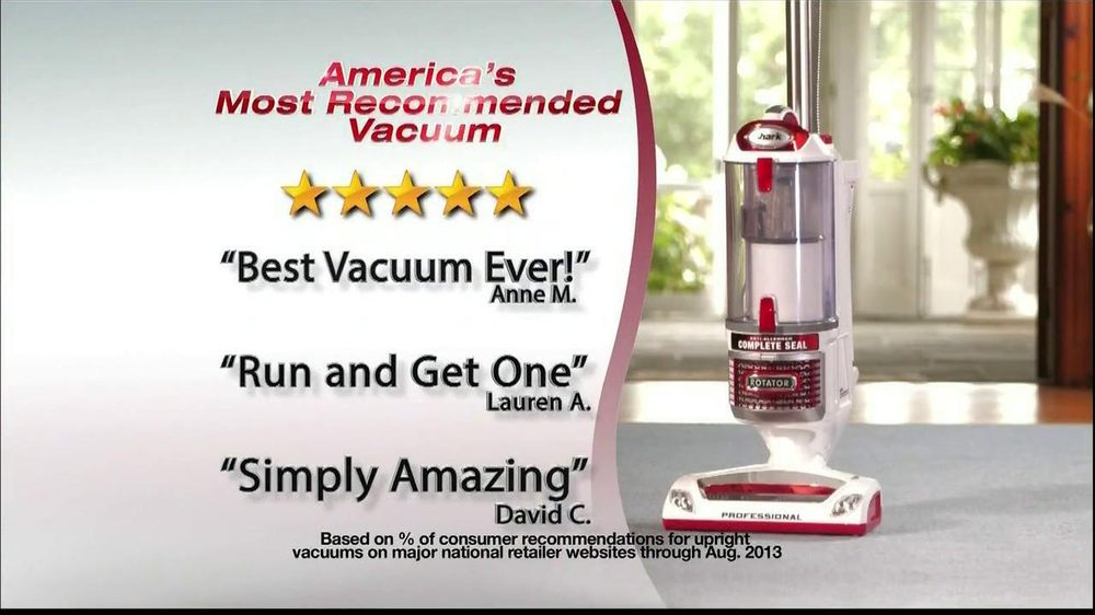 Shark Rotator TV Spot, 'Most Recommended Vacuum' - Screenshot 3
