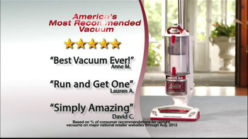 Shark Rotator TV Spot, 'Most Recommended Vacuum'